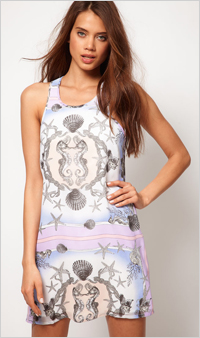 Our pick: Mermaid Print Dress, $92, ASOS.com