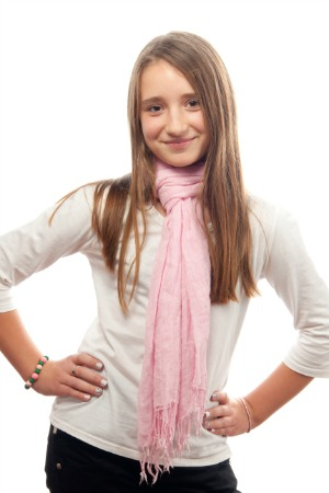 tween girl scarf