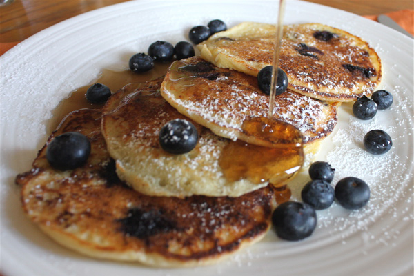 Berry perfect pancakes