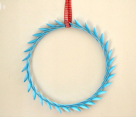 Spoon wreath