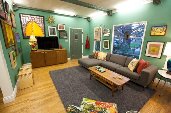 Danielle Colding's living room