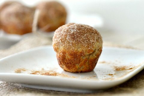 Whole wheat donut hole