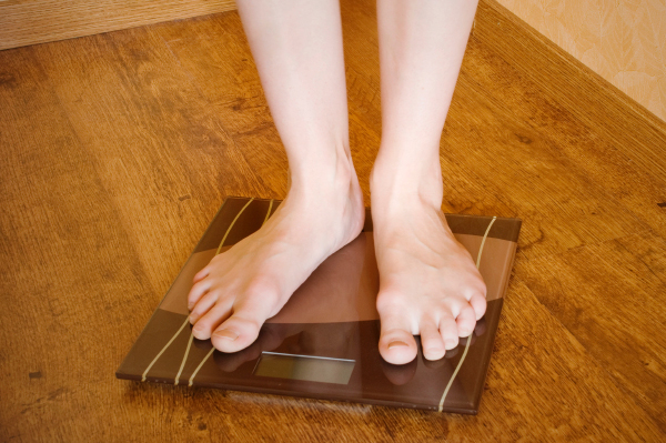 Standing on the scale