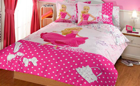 Barbie bedding set
