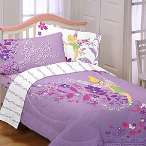 Twinkling Tinkerbell bedding set