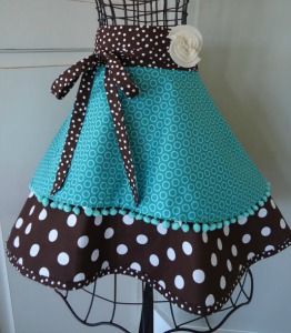 Retro Women's Half Apron