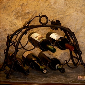 Bella Toscana wine rack ($148)