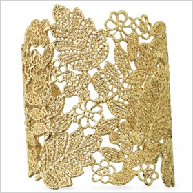 Lovely lace cuff