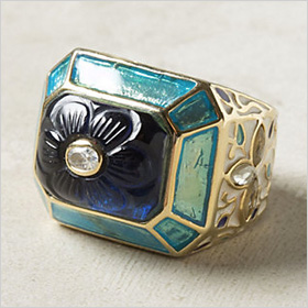 ornate statement ring