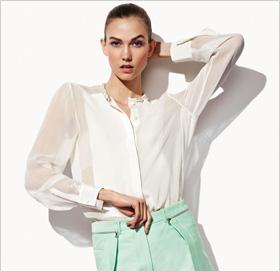chiffon blouse by 3.1 Phillip Lim