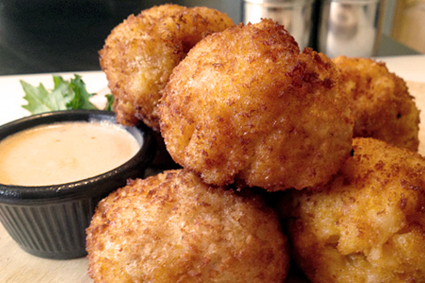 panko-crusted macaroni and cheese balls