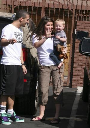 Bristol Palin and her son, Tripp