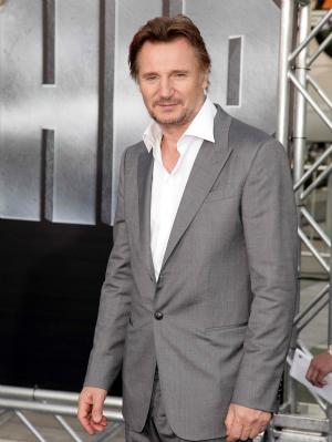 Liam Neeson at Battleship Premiere