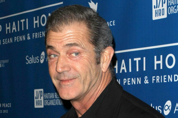 Mel Gibson at the Montage Hotel in Beverly Hills