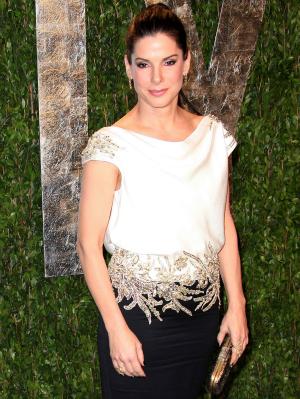 Sandra Bullock at 2012 Vanity Fair Oscar Party