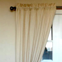 Organic curtain panels