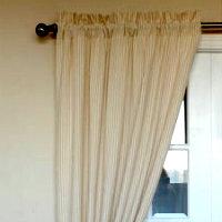 Organic curtain panels