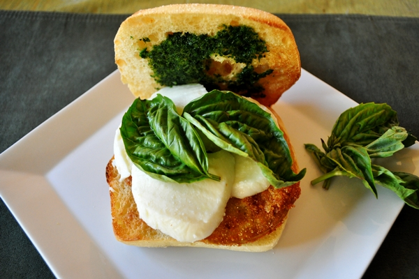 Fried Green Tomatoes make a caprese special