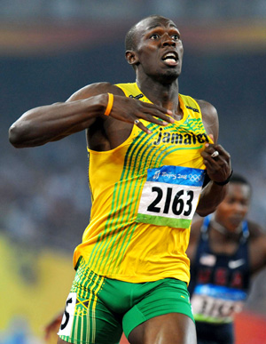 Usain Bolt is fastest man alive