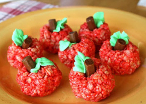 Krispy apple treats