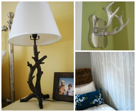 lake house decor collage
