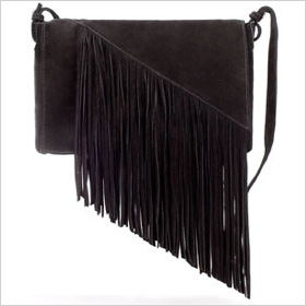 messenger bag with fringe f