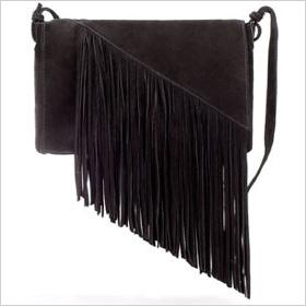 messenger bag with fringe f