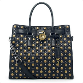 Michael Kors Hamilton Studded Tote.