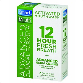 Smart Mouth Advanced Clinical Formula Mouthwash ($14)