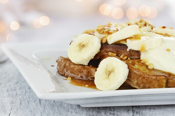 Banana Pecan French Toast