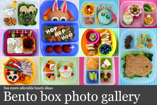 bento box photo gallery