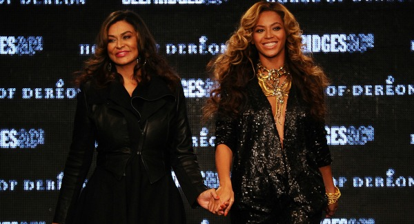 Beyonce and mother Tina Knowles