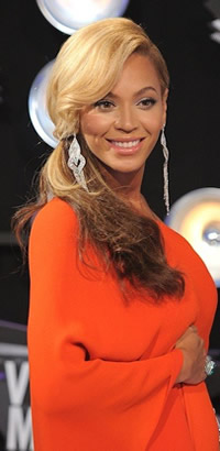 Beyonce's VMA hairstyle