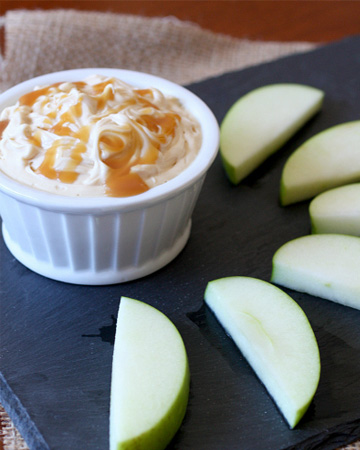 A perfect apple dip