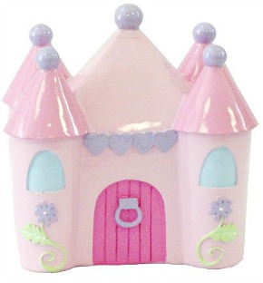 Little Princess Resin Castle Bank