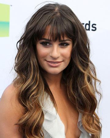 Celeb Hairstyle Of The Week Lea Michele