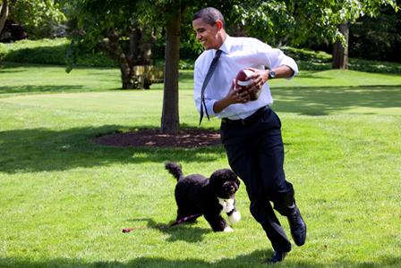 President Obama & Bo