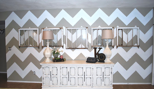 Not just your ordinary accent wall