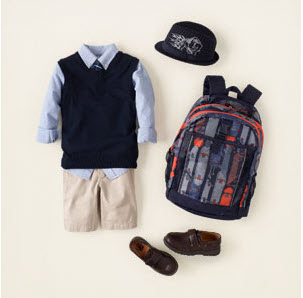 boys uniform clothing from childrens place