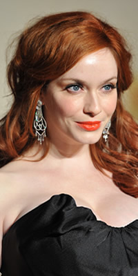 Christina Hendricks hair color
