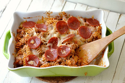 Pizza and pasta recipe