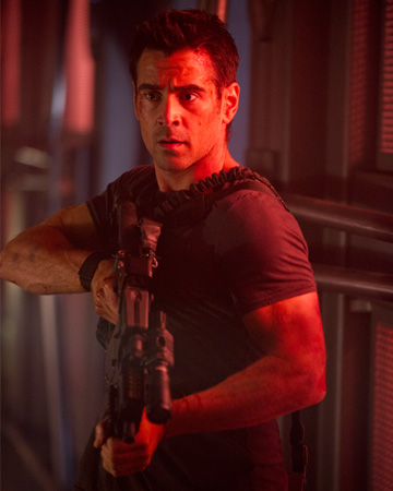 Colin Farrel in Total Recall