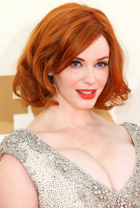 Christina Hendricks at 2011 Emmys
