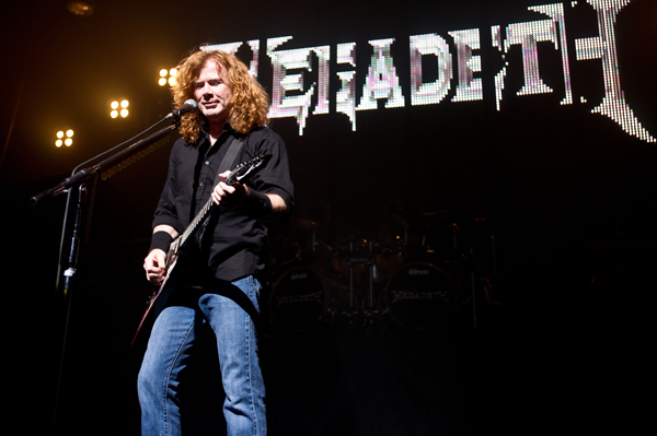 Megadeth's Mustaine blames Obama for deaths