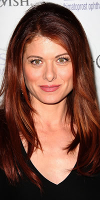 Debra Messing hair color