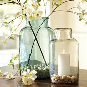 Pottery Barn pickling jars
