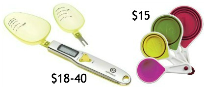 Admetior Digital Spoon Scale collapsible cups