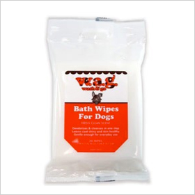 WAG Bath Wipes for Dogs