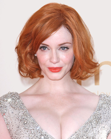 Christina Hendricks at 2011 Emmy Awards