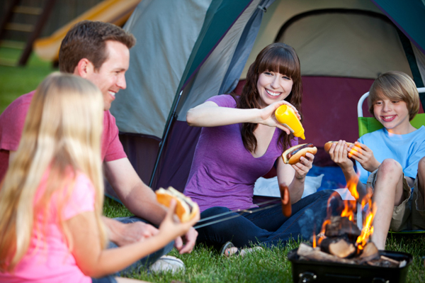 Family Backyard Camping : Why camping in your yard is a good test